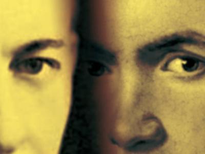 Banner, rostros Rachmaninov y Beethoven
