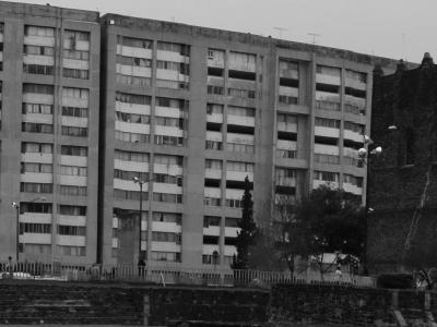 (CC) ATSA - Panorámica de Tlatelolco - Wikimedia Commons, por Tanke67