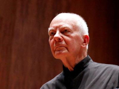 (CC) BYSA Banner. Orquesta Filarmónica de la Ciudad de México. Michael Gilbert, dirige.