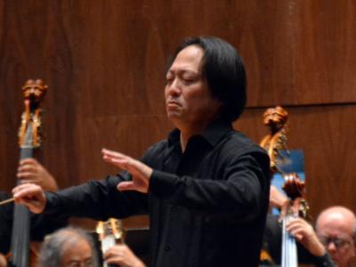 (CC) BYSA Banner. Orquesta Filarmónica de la Ciudad de México. Scott Yoo dirige Bruckner.