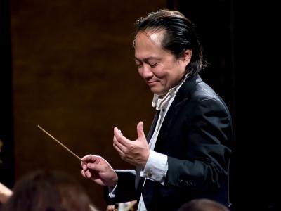 (CC) BY Javier Cortés Sandoval. Scott Yoo dirige a la OFCM (Filarmónica de la Ciudad de México) 21.03.2017